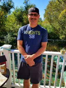 """Thank you, Larry Busteed for supporting the film KNIGHTS """"58"""" and the #environment by purchasing a t-shirt and wearing it to help spread this campaign globally. Thank you Larry Busteed!"""